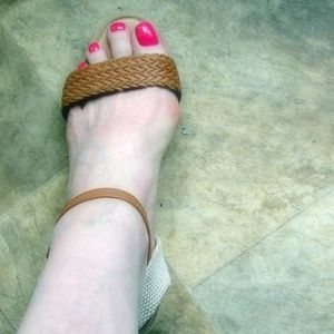 Cato Shoes - Cato strappy wedge sandals 10